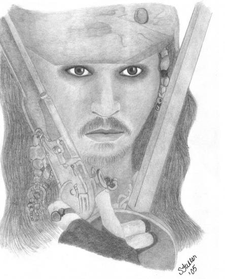 Johnny Depp par luvnangel93